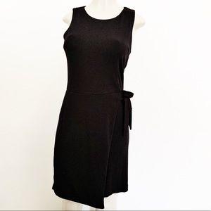 Ann Taylor LOFT Sleeveless Faux Wrap Dress, 0